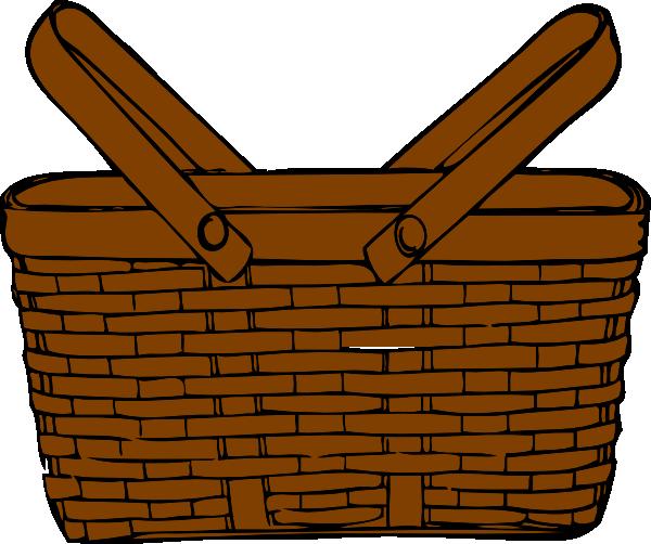 600x502 Empty Apple Basket Clip Art Cliparts