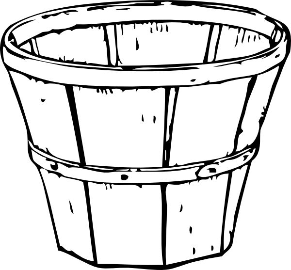 600x557 9 Best Bushel Basket Applique Images Art Online