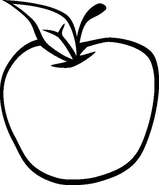 516x598 Empty Apple Clip Art