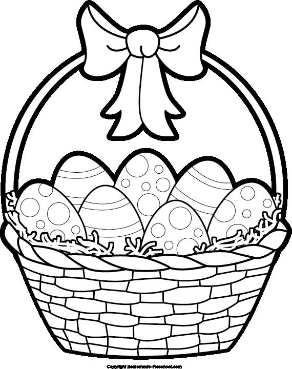 570x720 Empty Basket Black Clipart 2120833