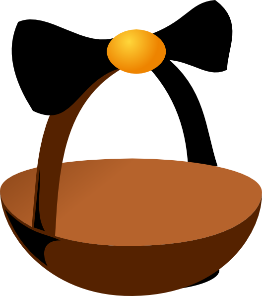 528x595 Empty Easter Basket Clip Art