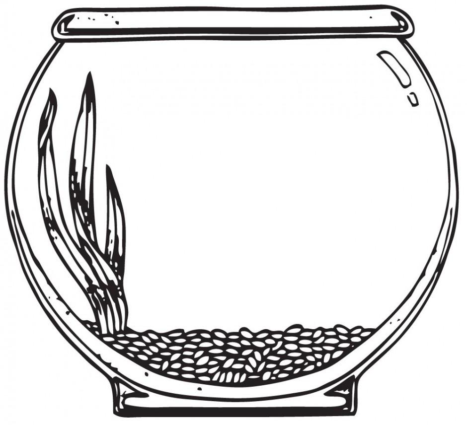 940x856 Empty Fish Bowl Clipart
