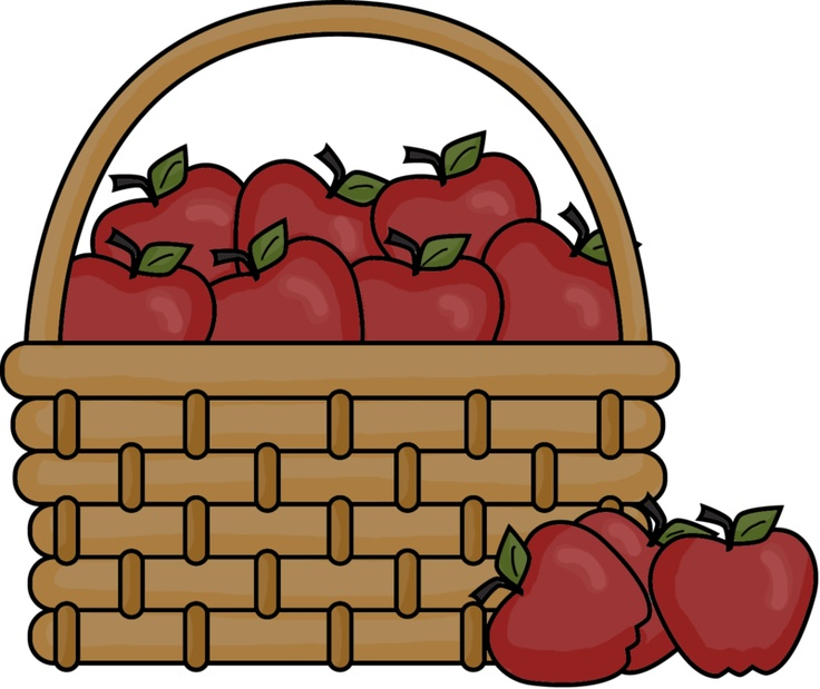 736x619 Graphics For Craft Apple Basket Clip Art Graphics Www