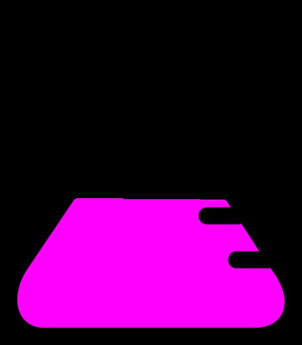 600x686 Beaker Clipart