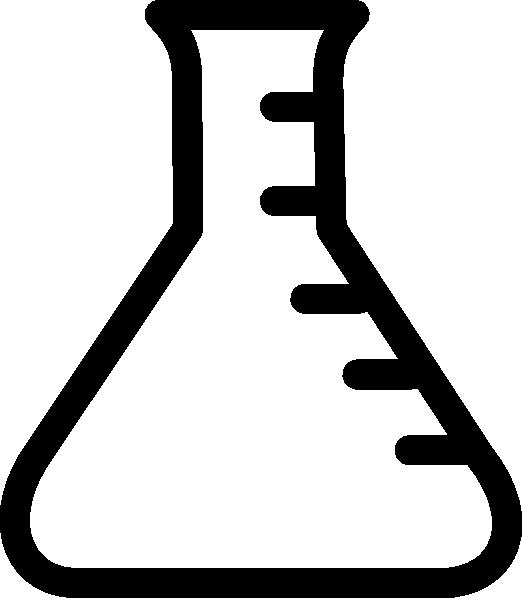 522x598 Empty Beaker Clip Art