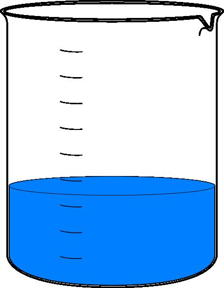 462x594 Empty Beaker Clipart