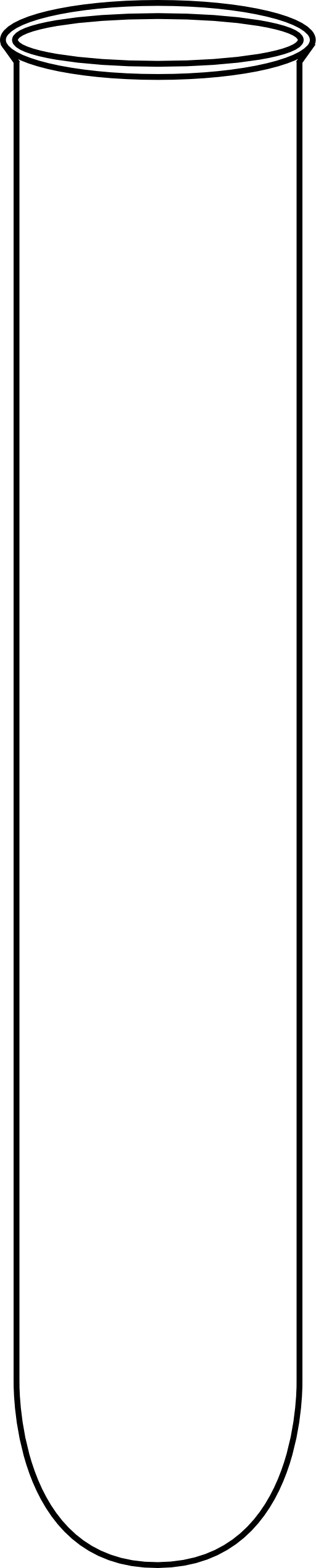 512x2540 Empty Beaker Clipart Empty