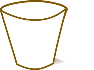 300x225 Empty Cup Science Clip Art