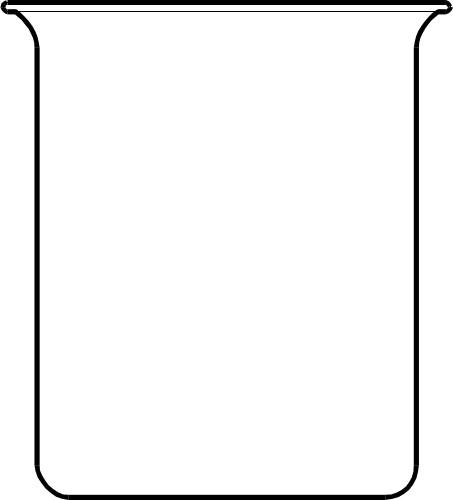 453x500 Liquid Clipart Empty Beaker