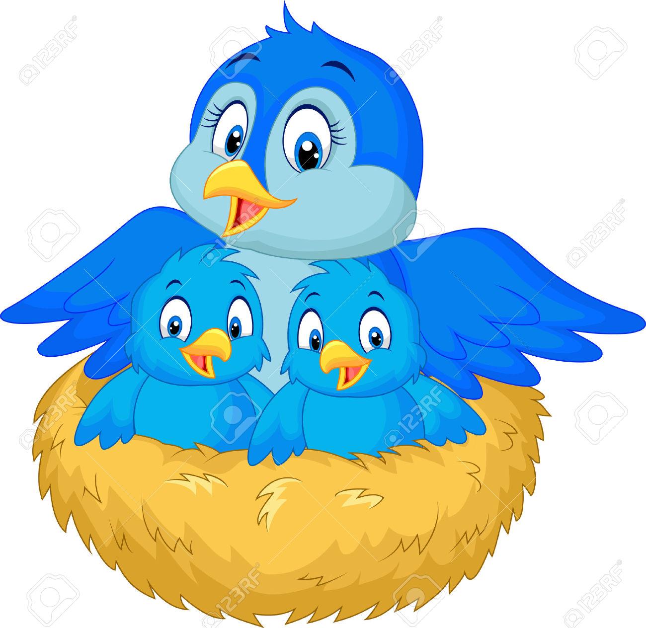 1300x1264 Bluebird Clipart Mother Bird