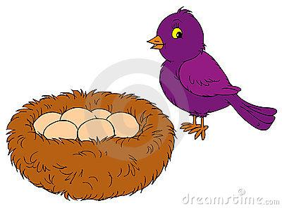 400x295 Egg Clipart Nest Clipart