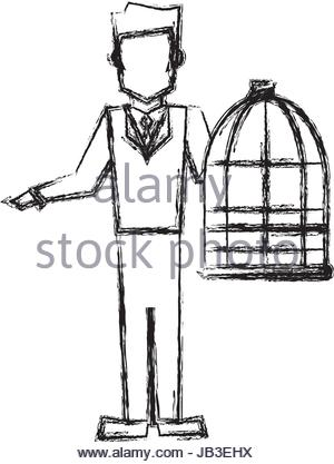 300x417 Bird Cage Vector Stock Vector Art Amp Illustration, Vector Image