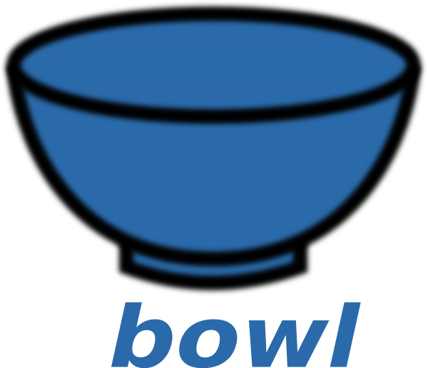 Empty Bowl Clipart