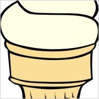 200x200 Empty Ice Cream Cone Clip Art Clipart Panda