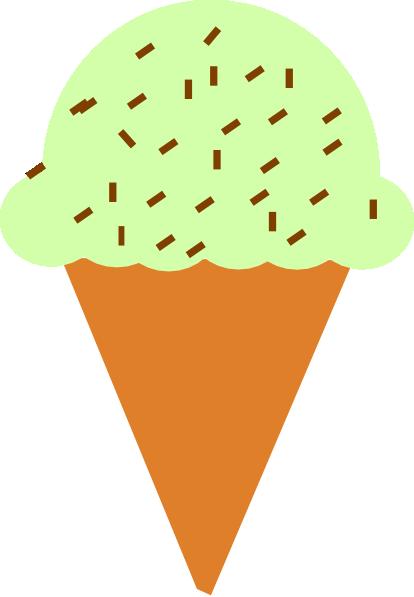 414x597 Ice Cream Cartoon Clipart