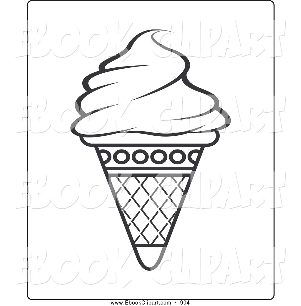 1024x1044 Ice Cream Outline Clip Art