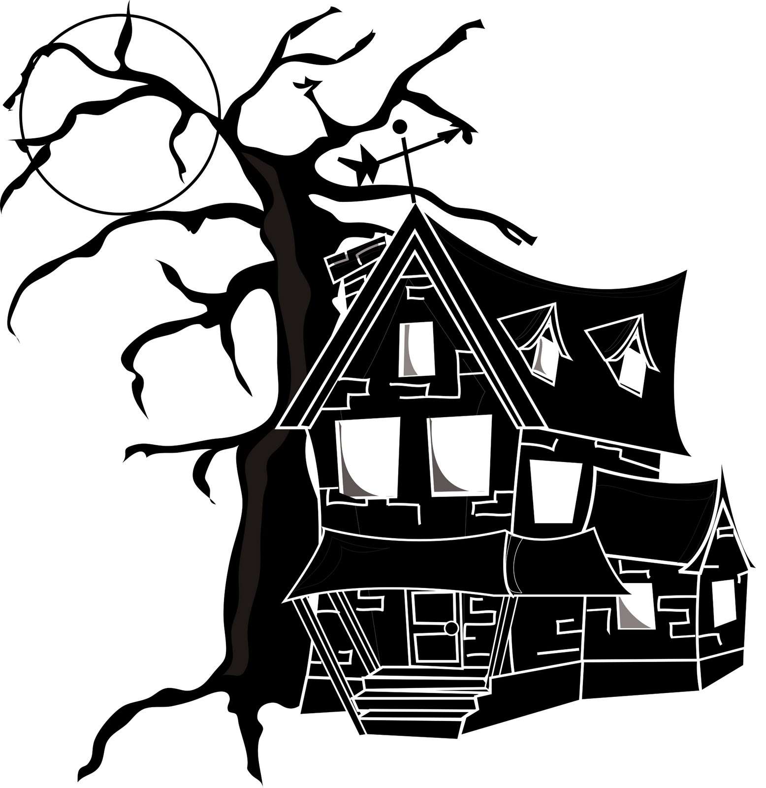 1556x1600 Empty Nest H Is For Haunted House