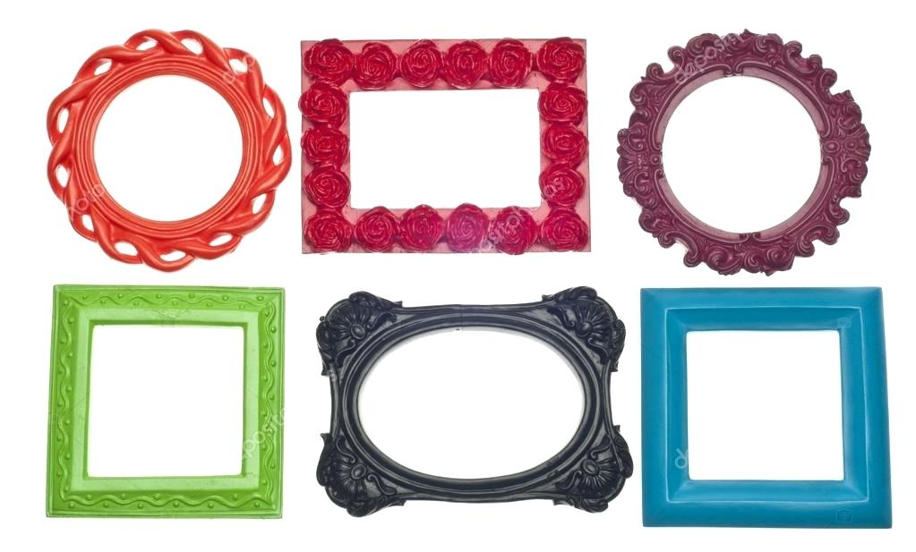 1023x617 Cool Empty Picture Frame Modern Vibrant Colored Empty Frames Stock
