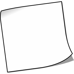 300x300 Empty Picture Frame Clipart