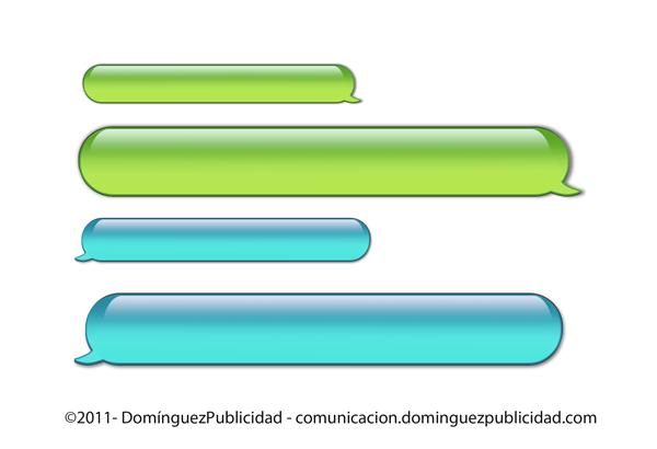 600x410 Iphone Sms Type Tipo Bubbles By Dpcomunicacion