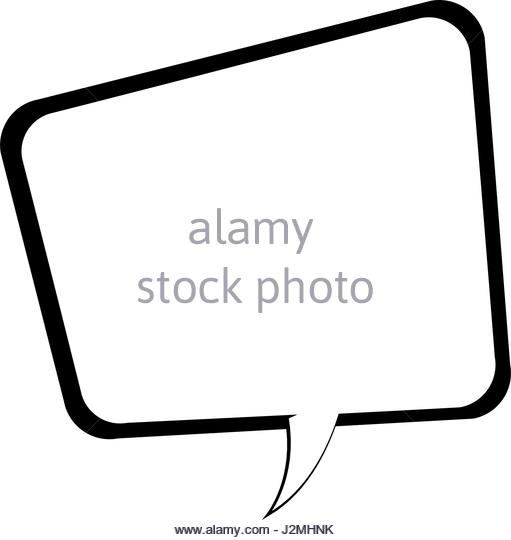 511x540 Speech Bubble Black And White Stock Photos Amp Images