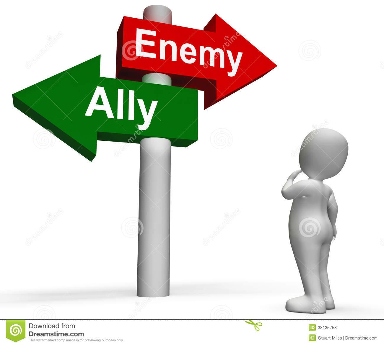 Enemies Cliparts
