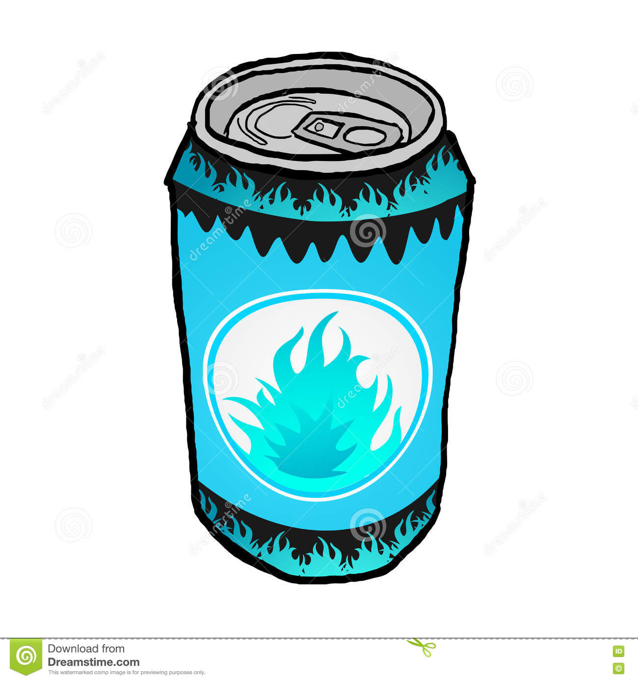 1300x1390 Energy Drink clipart metal can