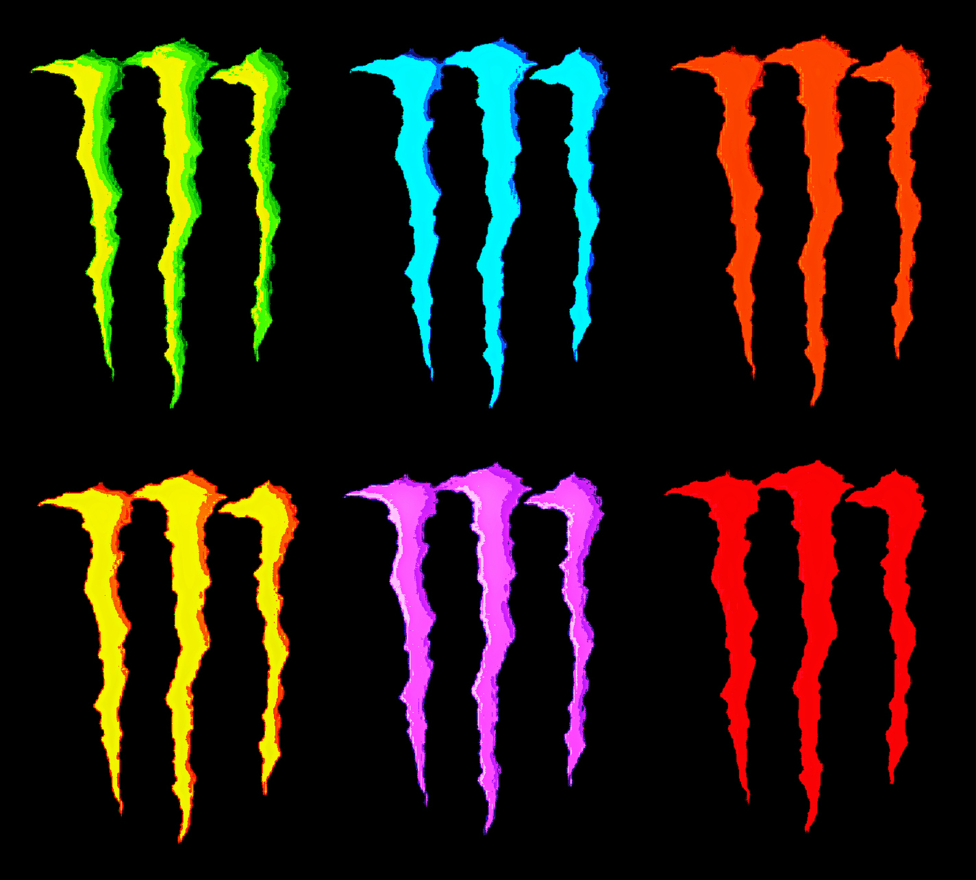 1425x1285 Monster Energy clipart orange