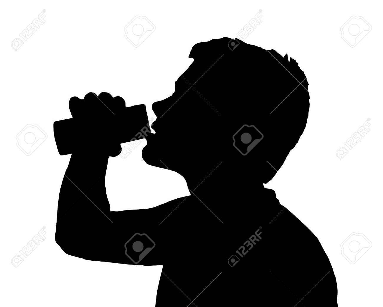 1300x1040 Energy Drink clipart black and white