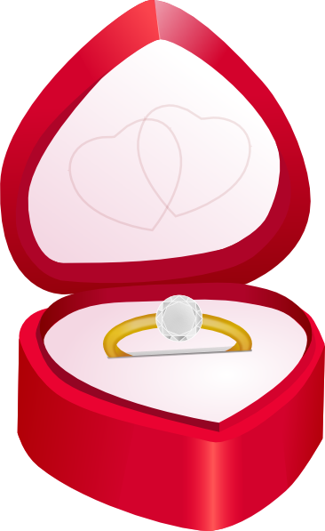 366x597 Engagement Ring Clip Art