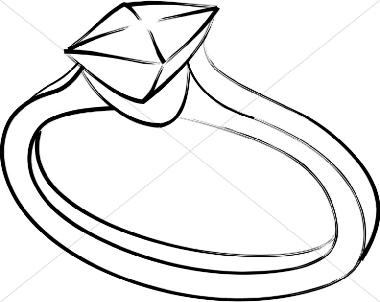776x617 Interlocking Wedding Bands Clipart