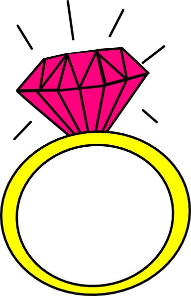 384x595 Ring Clipart Weddin