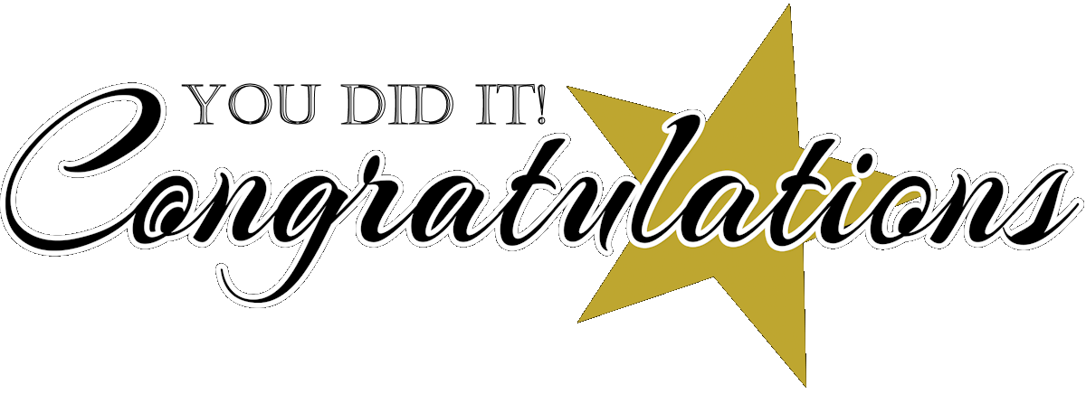 1200x436 Free Congratulations Clipart Pictures