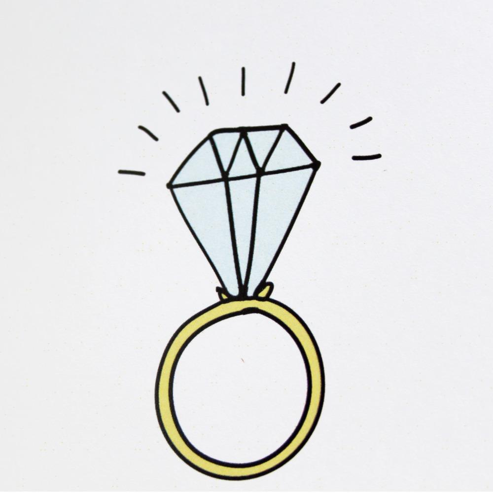 1000x1000 Clip Art Engagement Ring Clip Art