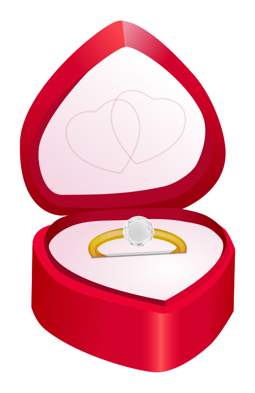520x800 Cartoon Diamond Ring Free Download Clip Art