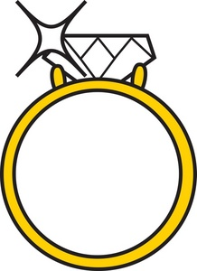 218x300 Diamond Engagement Ring Clip Art 8 Engagement Rings