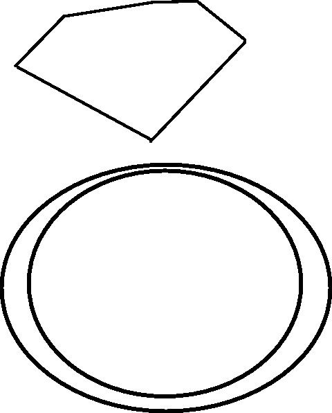 480x596 Diamond Ring Clipart