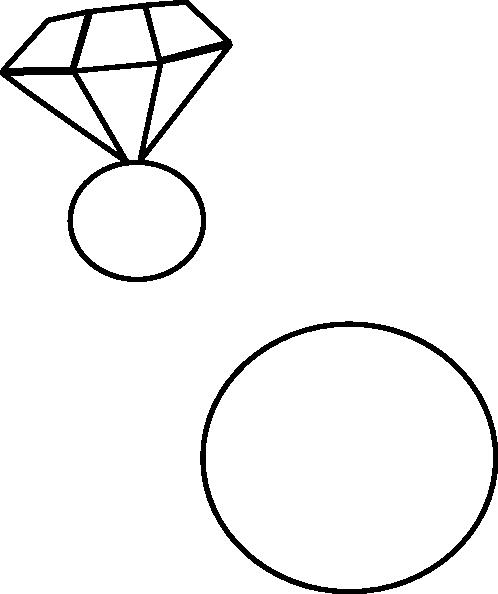 498x594 Diamond Ring ashraf Clip Art