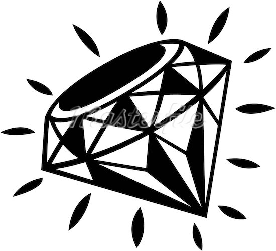 550x500 Diamond Ring Clipart Free Clipart Images