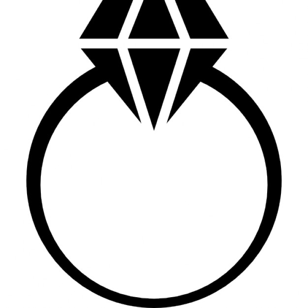 626x626 Free Engagement Ring Clipart Image