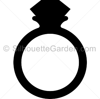 336x334 Ring clipart silhouette