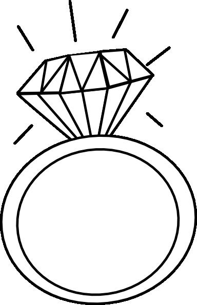 384x595 Ring Outline Clip Art