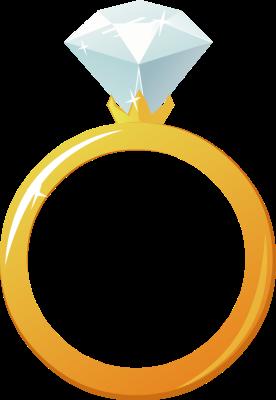 276x400 Clip Art Wedding Rings