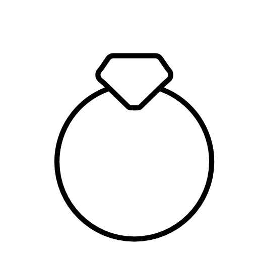 512x512 Diamond Ring Icon Free Icons Download