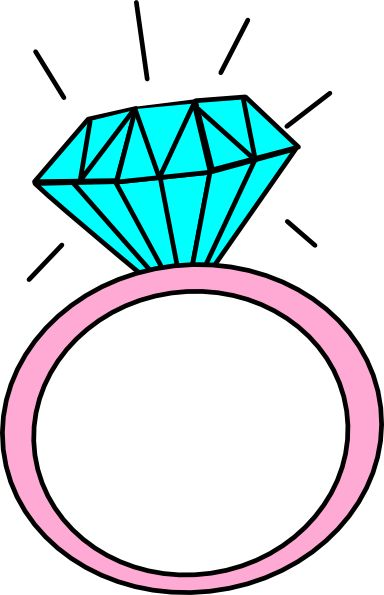 384x595 Clipart Engagement Ring
