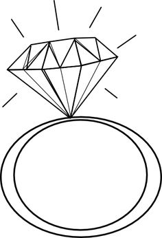 236x346 Engagement Ring Silhouette Clip Art