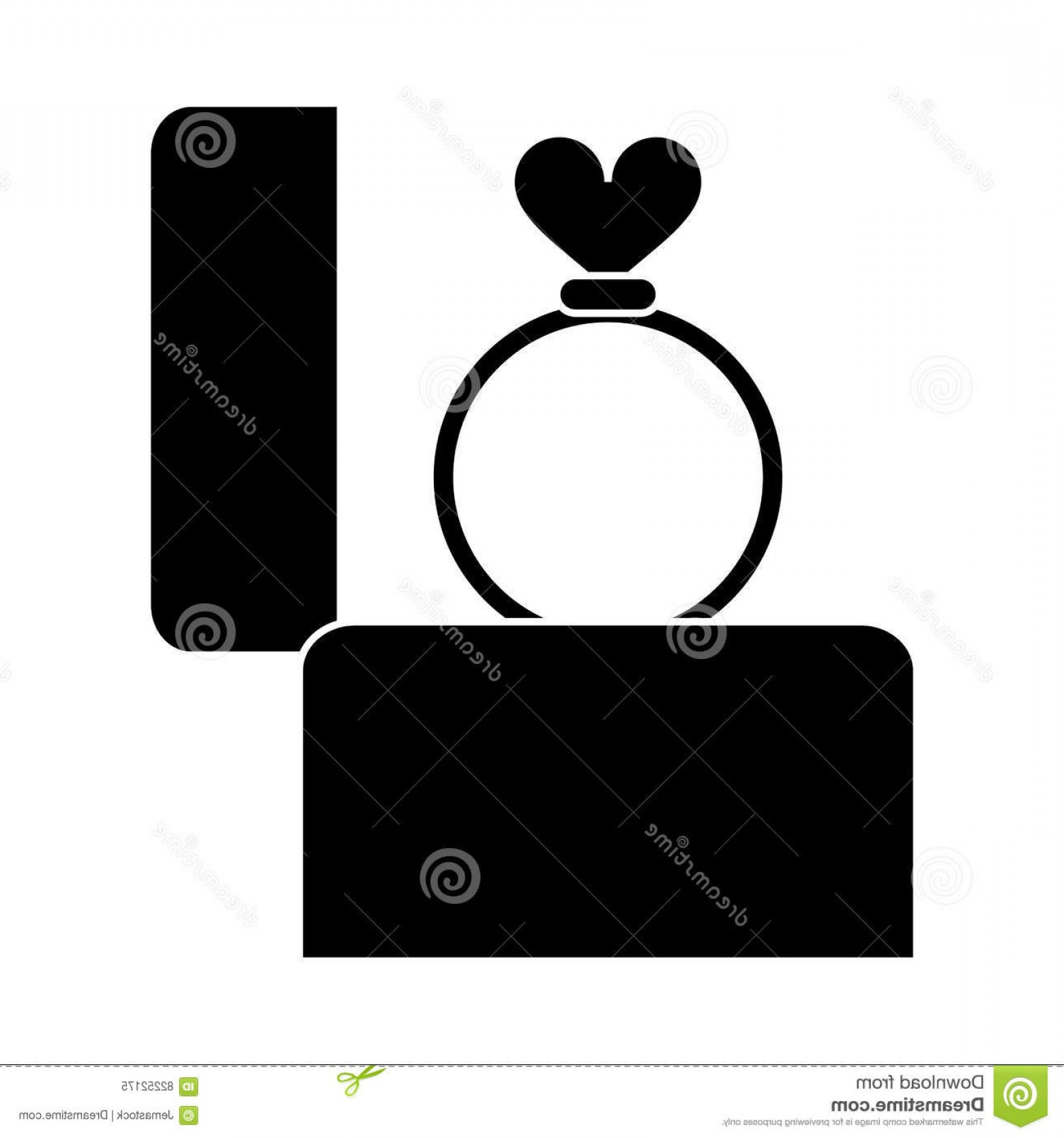 1560x1668 Lovely Diamond Ring Silhouette Vector Jewellry's Website