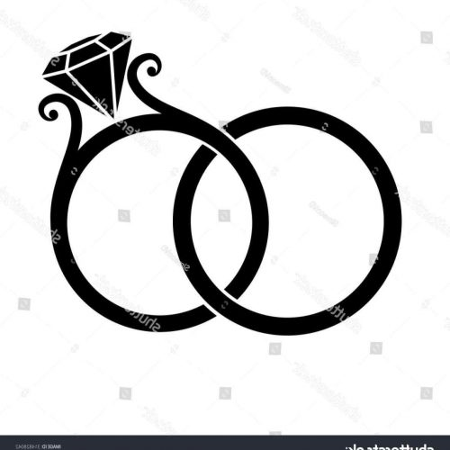 500x500 Diamond Ring Silhouette Elegant Uneek Silhouette Lvs983rad