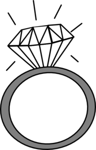 192x299 Clipart Engagement Ring