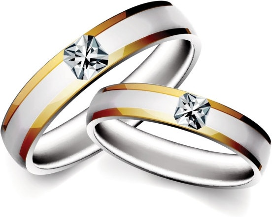 552x442 Precious Wedding Ring 04 Vector Free Vector In Encapsulated